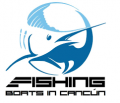 Fishing Boats in Cancun Logo